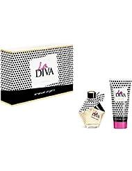 UNGARO Coffret La Diva Eau de Parfum Femme, 50 ml + Lotion pour Corps, 100 ml