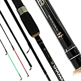 Matt Hayes SHAMAN (3.0m/10ft) 3 Piece QUIVER (30g cw) High Grade Carbon Fishing Rod with 2 Interchangeable Push In Tips [12MH-95300]