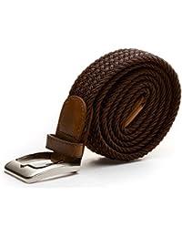 Stretchgürtel Braun 110cm 125cm elastisch dehnbar
