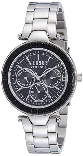 Versus by Versace Analog Black Dial Women's Watch - SOS07 0015
