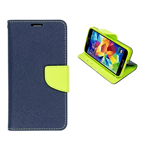 Alphin Royal Dairy Style Flip Cover For Samsung Galaxy Core GT-i8262 (LAPIS BLUE)  available at amazon for Rs.197