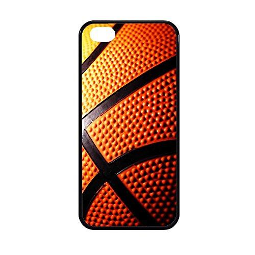 Coque en caoutchouc TPU, imprimé ballon de basket, de haute qualité IPHONE 5/5S STICKER BOMB