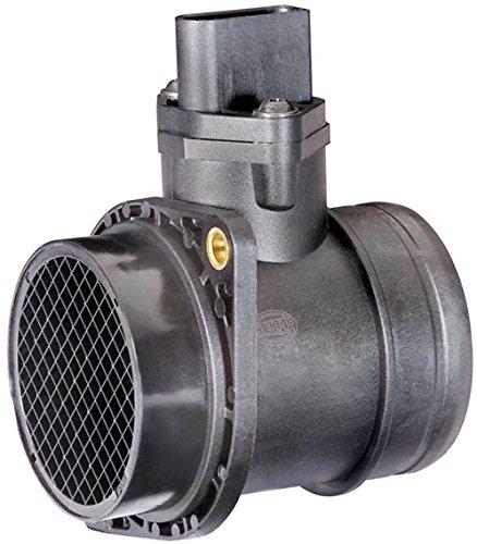HELLA 8ET 009 142-701 Luftmassenmesser, Anschlussanzahl 5, Montageart Rohrstutzen Test