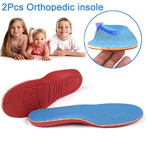 Symboat Plantillas Zapatos 1par de Plantillas ortopédicas para niños, 32-35
