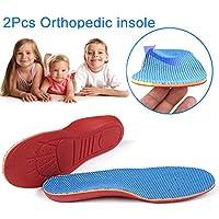 ZREAL 1 Paar Kinder Orthopädische Einlegesohlen Schuhe Flache Fuß Arch Support Orthesen Pads Korrektur Gesundheit preisvergleich bei billige-tabletten.eu