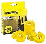 Federwegbegrenzer Yellow Stick 13mm 8er Set universell Mit 6- fach Positionierung Federwegsbegrenzer