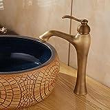 Küchenarmatur Antik Kupfer über Zähler Becken heiß und kalt Wasserhahn Dusche & Bad Wasserhähne gebürstet Spüle Wasserhahn