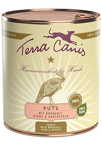 Terra Canis | Pute con brokkoli Pera y patatas | 6x 800g