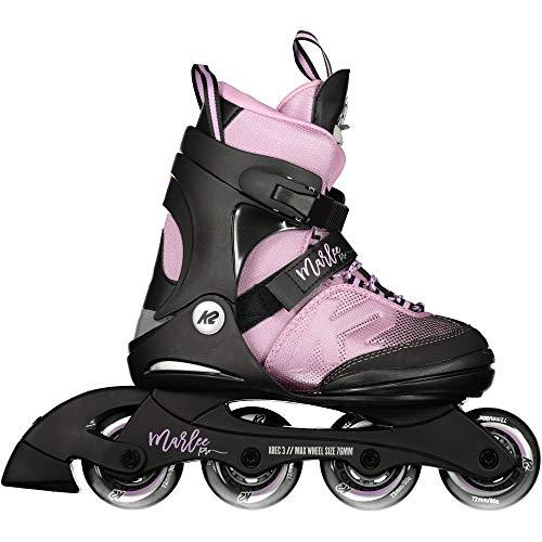K2 Unisex-Kinder Marlee Pro Pack Skateboardschuhe, Schwarz (Black/Lavendel 001), 35 EU
