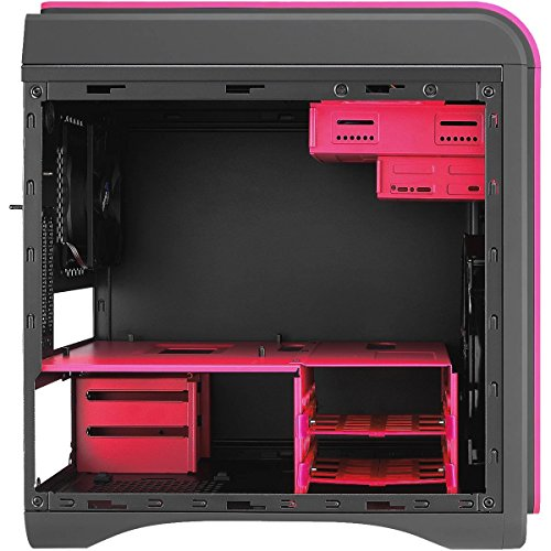 Gaming-G2-OliWooD-Design-PC-inkl-bunter-Design-Tastatur-4x-31-38GHz-8GB-2008GB-SSHD-AMD-Radeon-R7-DS-Cube-USB-30-Windows-10-Pro-Pink