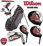 Wilson Profile XD Herren komplettes Golf-Set Deluxe Stand Bag Eisen