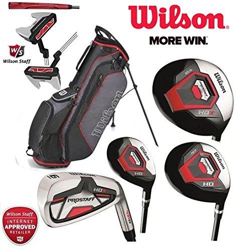 Wilson Profile XD Herren komplettes Golf-Set Deluxe Stand Bag Eisen mit Stahlschaft