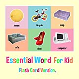 100 Essential Word For Kid : Flash Card Version.