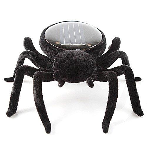 DingLong Solar Power Mini Spielzeug, Auto - Spinne - Heuschrecke - Kakerlake Roboter, Pädagogisches Spielzeug Kleines Geschenk (B) -