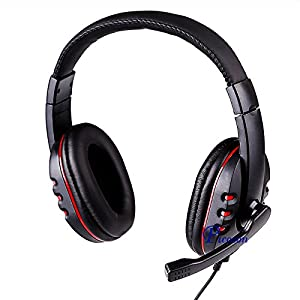 Picozon Gaming Headset Headphone with Microphone for PS4, Playstation Vita, Mac, Laptop, Tablet, Computer, Mobile Phones