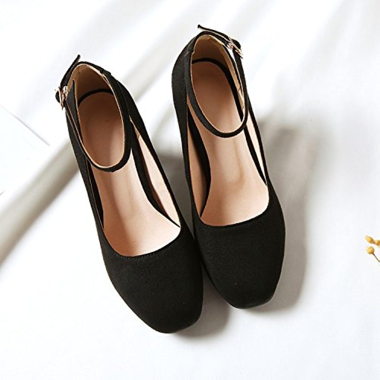 gaolim gaolim gaolim femmes célibataires en automne de chaussures avec épais et tête carrée fendu de sangle lumière chaussures minimaliste et polyvalente...b07ckxjw4g parent 37dc4f