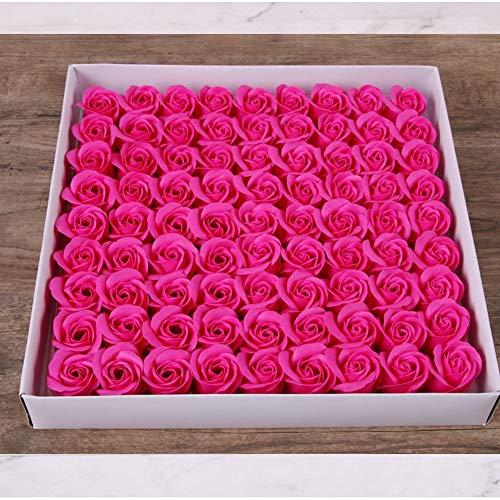 GAO 3 Schichten Seife Rosa Kapitule Eternal Soap Blumen Verpackungsmaterial (50) (Verpackungsmaterial Für Seifen)