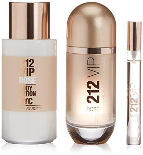 Carolina Herrera 212 Vip Rosa Eau de Parfum + Körperlotion + Mini-Parfüm - 1 Pack