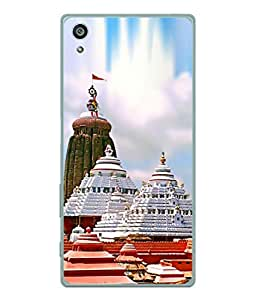 PrintVisa Designer Back Case Cover for Sony Xperia Z5 :: Sony Xperia Z5 Dual 23MP (The Famous Temple Of South India)