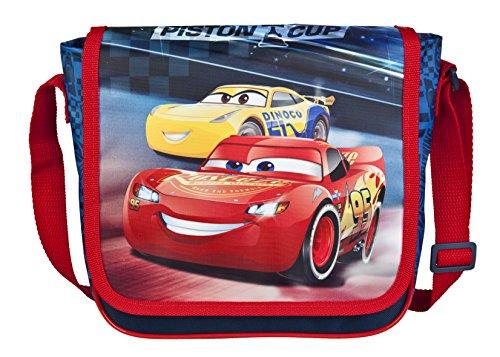Undercover Kindergartentasche, Disney Pixar Cars 3, circa 21 x 22 x 8 cm Kinder-Sporttasche, 22 cm, Rot