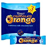 Terry's Chocolate Orange 3 Delicious Milk Chocolate Bars 105g