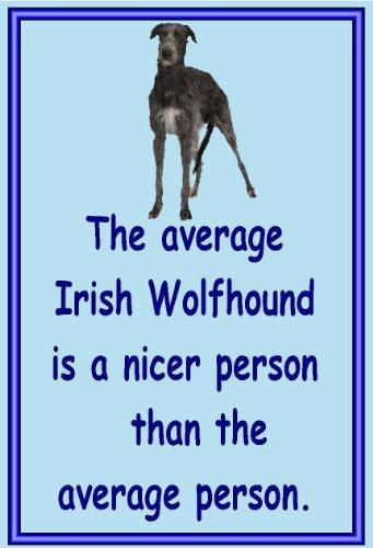 Irischer Wolfshund-Neuheit Hund Kühlschrank Magnete-viele Designs erhältlich -