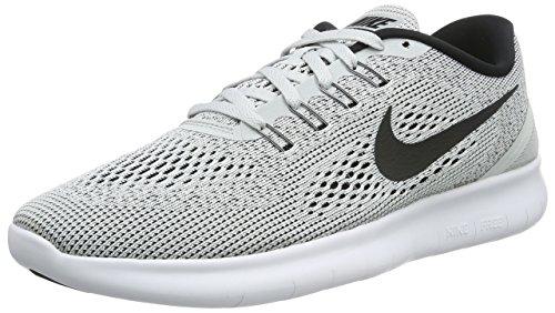 Nike Free, Running Homme Blanc Cassé - Bianco (White/Black/Pure Platinum)