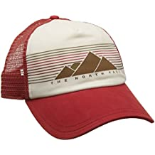 The North Face Pro Trucker Gorra, Mujer, Sunbaked Red/Vintage White, Talla Única