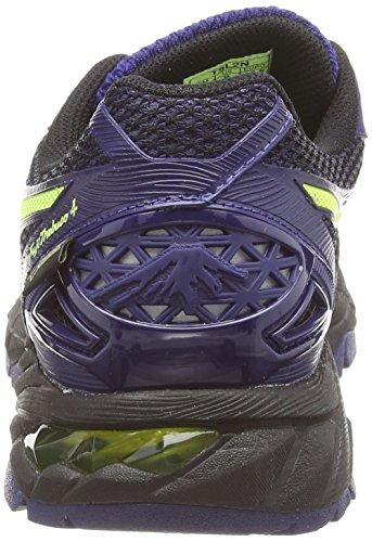 Asics Gel-fujitrabuco 4 G-tx, Chaussures de Trail Homme Noir (black/flash yellow/indigo blue 9007)