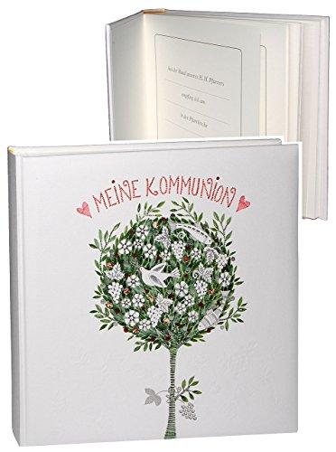 Fotoalbum / Kommunionsalbum - ' meine Kommunion ' - Gebunden zum Einkleben - blanko - für bis zu...