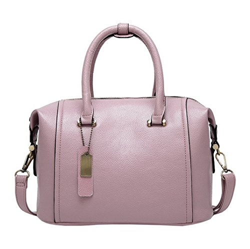 Aotela, Borsa a mano donna Size:22*29*15cm/8.7*11.4*5.9inch(H*L*W), Red (rosso) - AotelaAA-123456 Pink