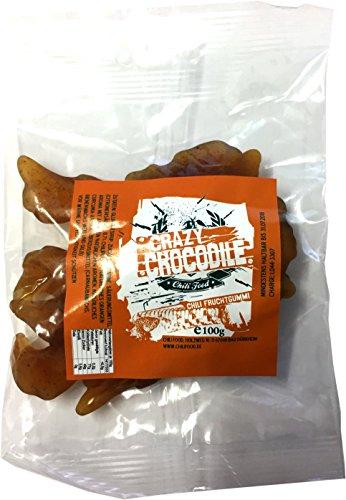 Crazy Crocodile - Chili Fruchtgummi, 1er Pack (1 x 100 g)