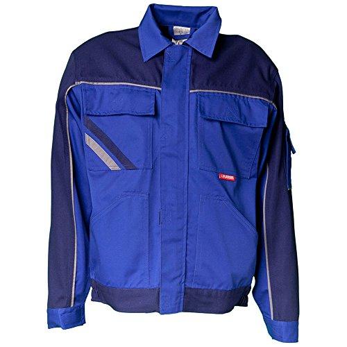 Vita giacca Planam High Line, Dimensioni 60, Blu/Blu Marino/zinco, (Tasche Collare)