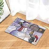 Queta Cartoon - Felpudo de Franela de Nieve para Puerta de Cocina, Dormitorio As Shown 2