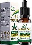 Gotas de aceite de semilla de cáñamo   Puro orgánico   Ayuda para dormir natural   para aliviar el dolor, la ansiedad y el estrés Ingredientes 100% naturales ricos en omega 3-6-9 y vitaminas