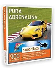 SMARTBOX - Caja Regalo - PURA ADRENALINA - 900 actividades de aventura como conducción en Ferrari, parapente, submarinismo…