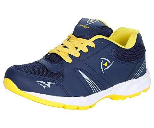 Kraasa Men's Navy Sport Shoe - 7