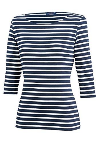 Saint James Shirt 3/4 Arm Garde Cote III R, Größe:50 (T 52), Farben:Blau-Weiß(6T)
