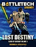 Front cover for the book Lost Destiny by Michael A. Stackpole