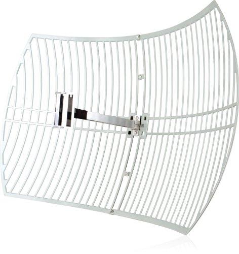 TP-Link TL-ANT2424B Antenne 2,4GHz 24dBi, Grau
