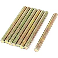 1mm Pitch M6 x 70mm Tono Hombre varilla roscada barra de bronce 8 PC