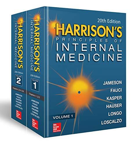 Harrison's Principles of Internal Medicine (Vol. 1 & Vol. 2) -