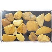 KRIO® - schöner Jaspis gelb in Kunststoffdose liebevoll abgepackt preisvergleich bei billige-tabletten.eu