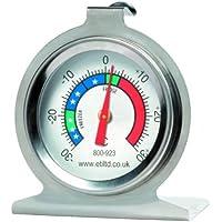 stainless steel fridge/freezer thermometer. Ideal For Home, Restaurants, Bars, Cafes