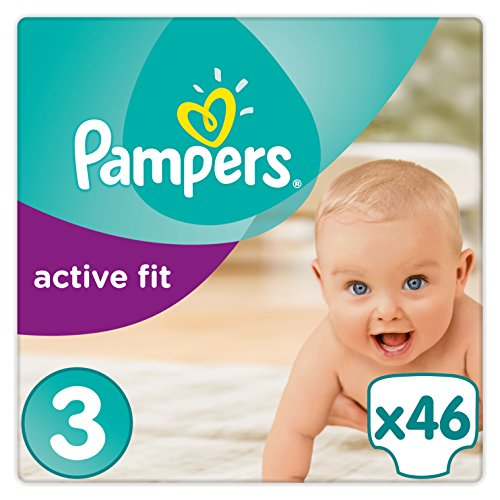 Pampers Active Fit Gr.3, 5-9 kg, 46 Windeln