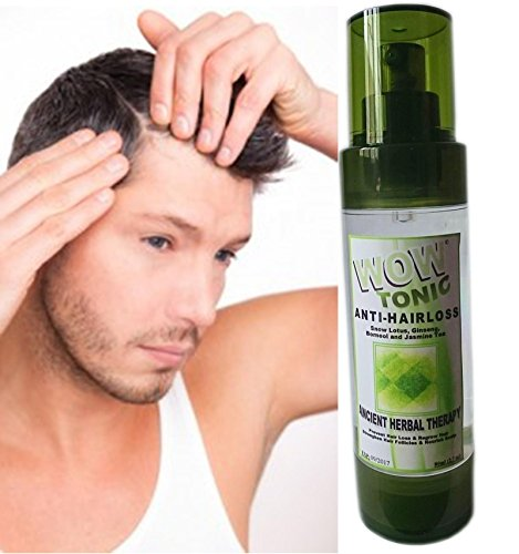 WOW-Tonic HAIR LOSS GROWTH FAST ULTRA TONIC Regrowth Grow 80ML -BRANDNEW