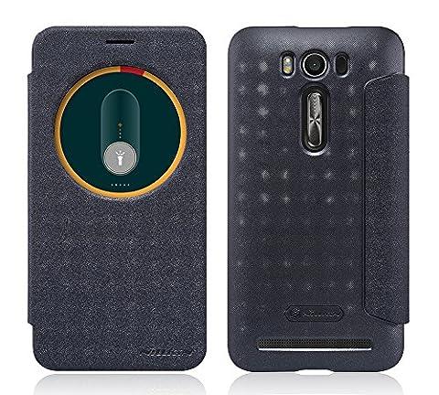 TopAce® Coque de haute qulity de Etui Housse / Flip Case pour Asus ZenFone 2 Laser(ZE500KL) 5.0 pouces (Noir)