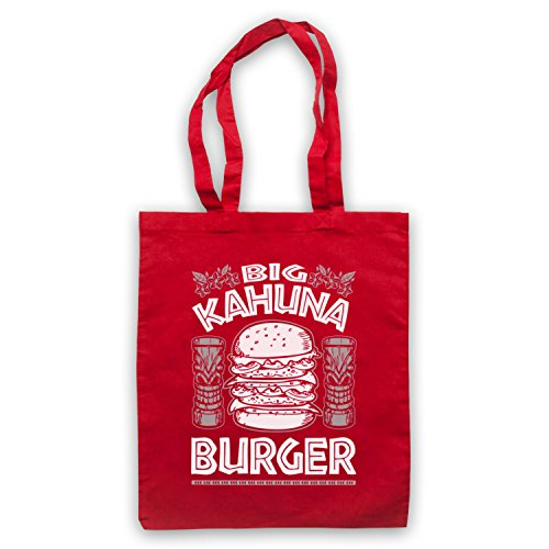 Inspire par Pulp Fiction Big Kahuna Burger Officieux Sac d'emballage Rouge
