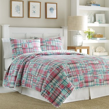 Nautica Sutter Creek Plaid Standard-Kissenbezüge Kissenbezug (Nautica Plaid)