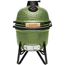 Berghoff 2415704 Barbacoa cerámica-Horno 33 cm, Verde, 41 x 36 x 57